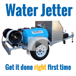 Video and Information on Water Jetter